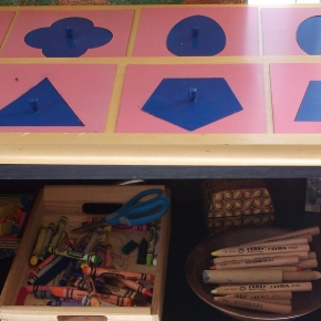 Using Montessori Metal Insets