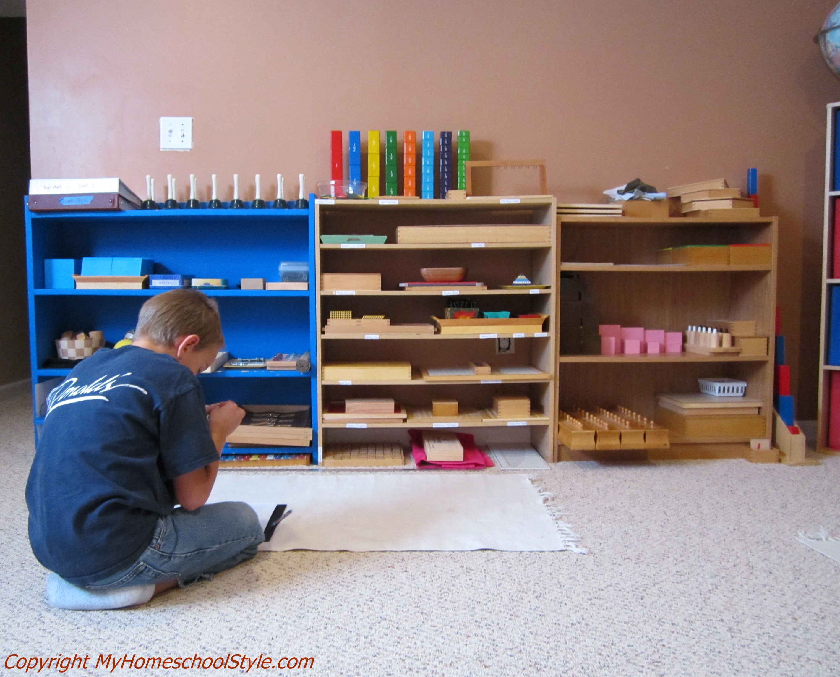 Montessori Math At Home
