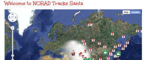 Paper Snowflakes and the NORAD Santa Tracker