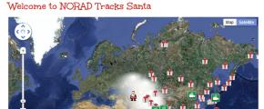 Paper Snowflakes and the NORAD SantaTracker