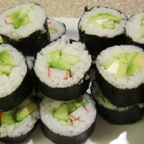 Easy Home-Made Sushi