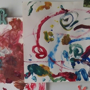 Painting At Home With Children