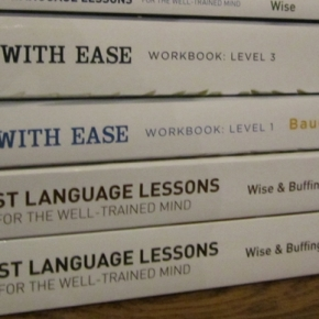 Writing With Ease, First Language Lessons