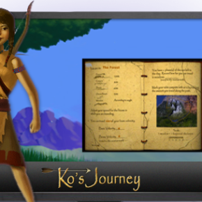 Ko's Journey, A Middle School Math Game