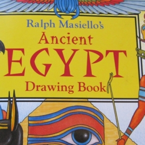 Ancient Egypt Drawing Book